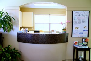 Ponderosa Dental front desk