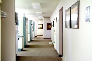 Ponderosa Dental hallway