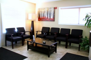 Ponderosa Dental waiting room