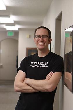 Dr. Eric Berkner smiling