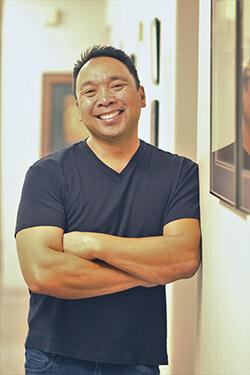 Dr. Caldron at Ponderosa Dental Arts smiling